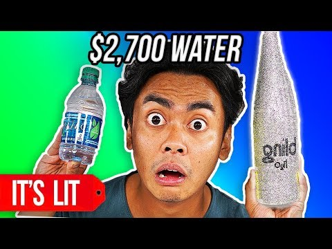 $1 VS $2700 WATER BOTTLE!