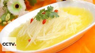 Китайская кухня: Сельский суп с кусочками редьки