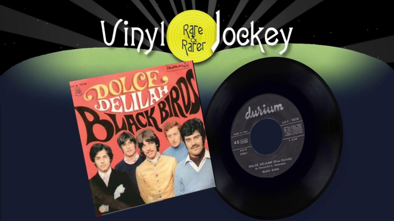 dolce delilah black birds top rare vinyl records rari vinili