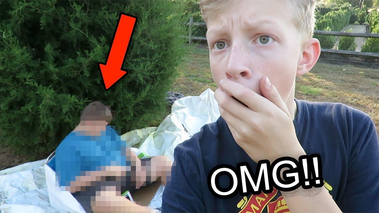 I FOUND A HOMELESS MAN LIVING IN MY BACKYARD!!!*He was ... on My Backyard Living id=58769