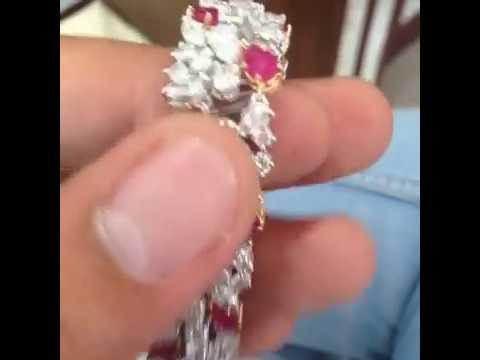 Diamond Bracelet | Round Diamonds | Marquise Diamond | Pear diamond |
