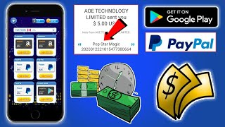 Pop Magic Star Payment PROOF || Get Google Play Gift Cards || Free Paypal Cash || Tricks Hoster