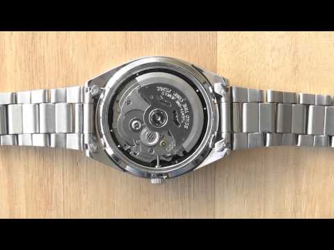 Watch Movement Diagram Understanding Car Wiring Diagrams Seiko 5 Automatic Mechanical 7s26 - Youtube