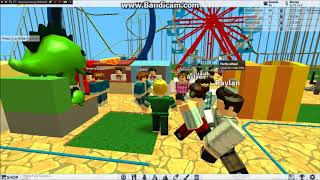I play Roblox and I go in the roller coaster