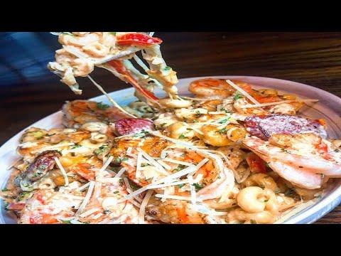Cajun Chicken And Shrimp Pasta (EASY RECIPE!!) 2019