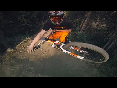 GoPro Hero 4 Session Test - Ollie Jones rides Whistler Bike Park
