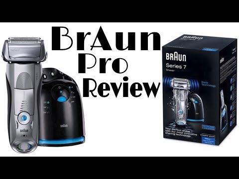 BrAun Series 7 Review - BrAun Series 7 Unboxing - Braun Series 7 Hands On