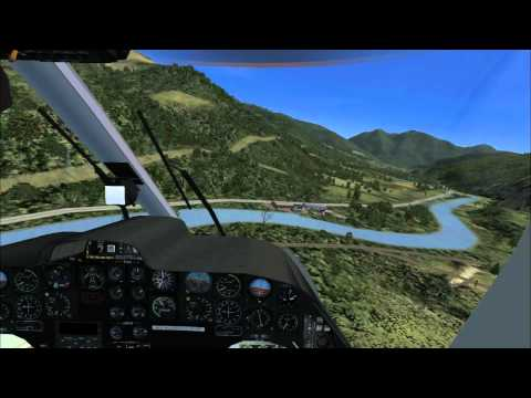 Medicopter 117 BK-117 Landung an Basis {Cockpit View}  [HD]