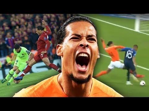 Virgil Van Dijk VS Great Players! 2019