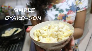 Simple Oyako-don Vlog | Simplebeautyworld