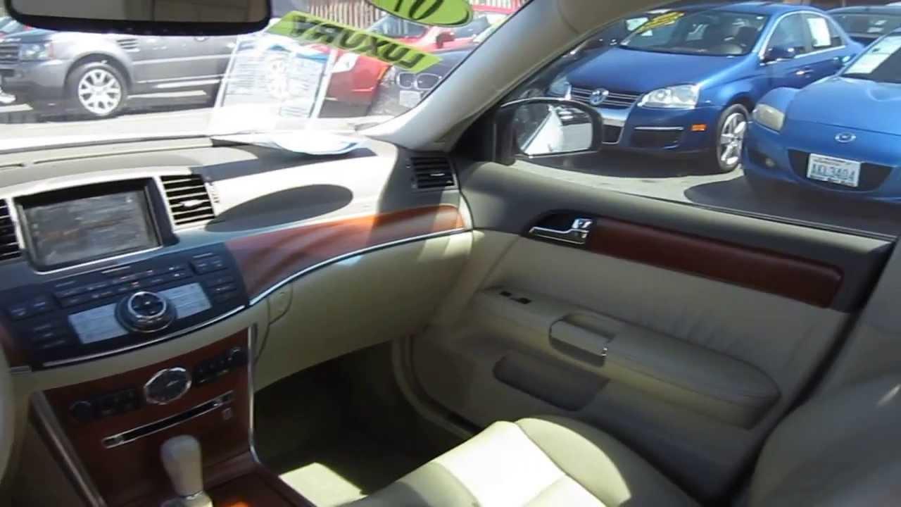 2007 infiniti m35 white stock l307095 interior youtube 2007 infiniti m35 white stock l307095 interior vanachro Gallery