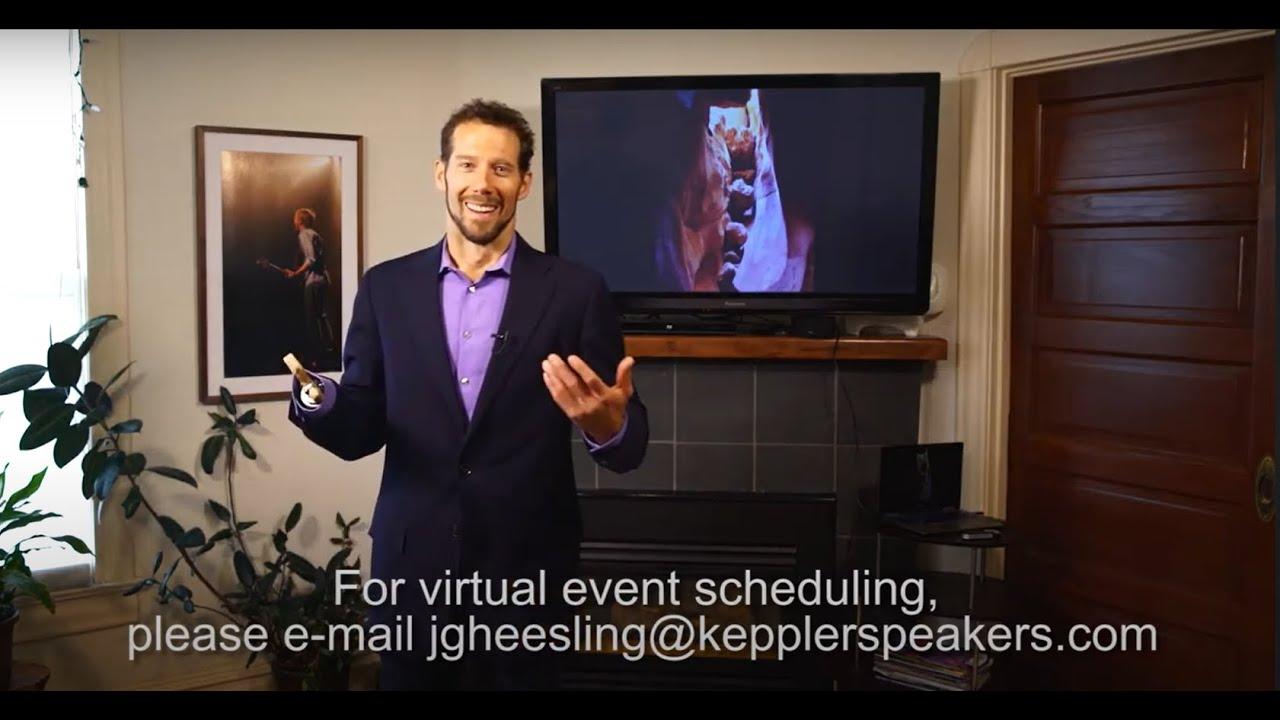 Aron Ralston - Virtual Speaking Trailer
