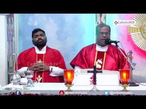 English Mass @ St. Anthony's Shrine, Mettuguda, Sec'bad, HYD, TS, INDIA. 05-02-19.