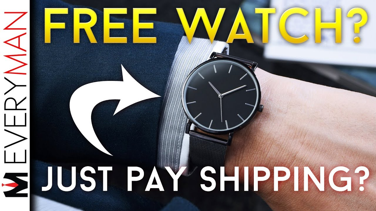 09a0fdbf71 'FREE' Watches Are A CON | 'JUST PAY SHIPPING' Instagram Scam