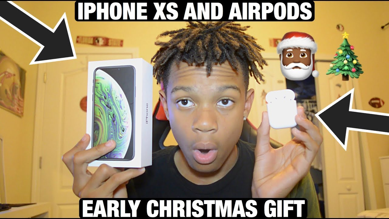 Early Christmas Present Meme.Early Christmas Present Iphone Xs And Airpods Unboxing