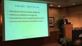 Minimalism: Disintermediation of Libraries and Publishers, Joseph Esposito