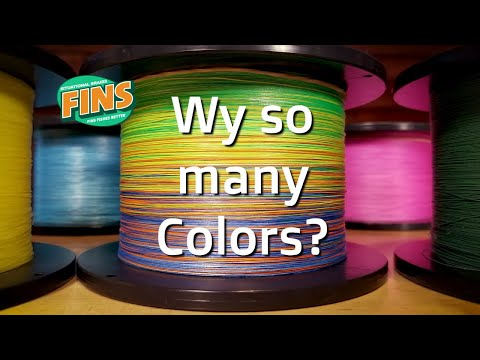 Braid Colors - Braided Fishing Line FAQ With Braidman