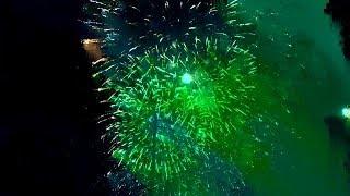 Obon Fireworks in Japan (Music Version)
