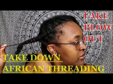 African Threading Take Down| Yemurai Crawford