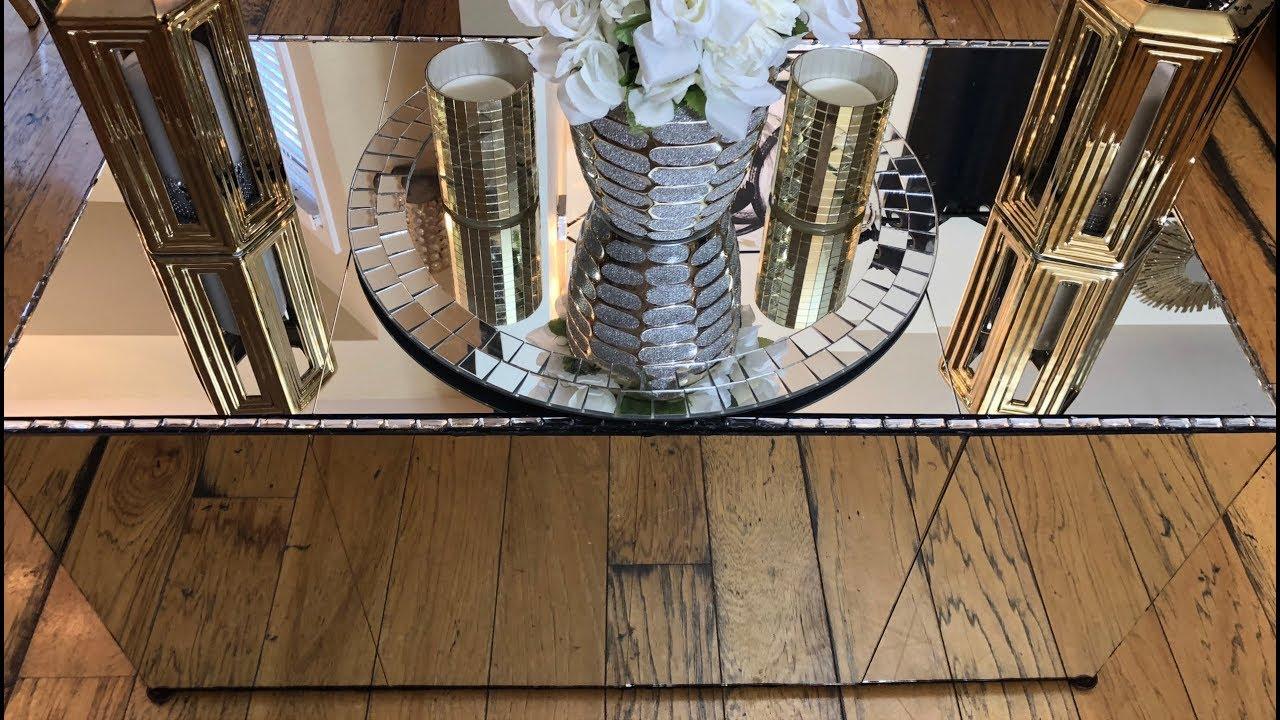 home decor diy 20 x40 mirrored coffee table