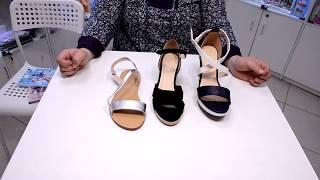 Босоножки женские Альба, Нубия и Круиз, обувь фаберлик, обзор - Видео от faberlic Топорков Дмитрий