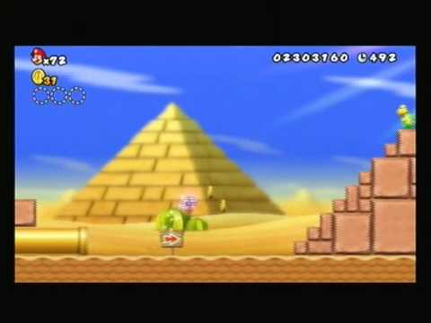New Super Mario Bros. Wii-How To Get 99 Lives