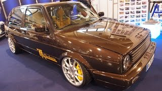 Volkswagen Golf 2 Type 19E Tuning at Essen Motorshow - Exterior Walkaround