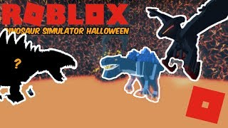 Roblox Dinosaur Simulator Halloween - KAIJU BARYONYX REMAKE!! + Fighting Halloween Map KOSers!