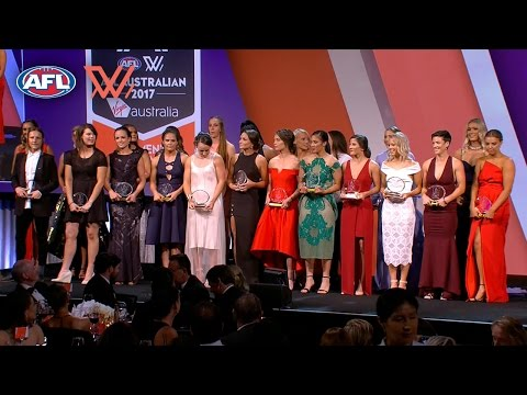 2017 AFL Women's All Australian Team