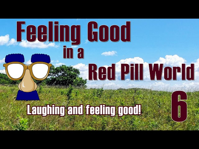 Feeling Good in a Red Pill 'World . -  Laughter