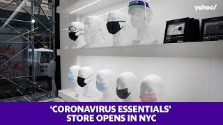 Coronavirus essentials store opens in NYC