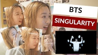 BTS (방탄소년단) LOVE YOURSELF 轉 Tear 'Singularity' Comeback Trailer REACTION!