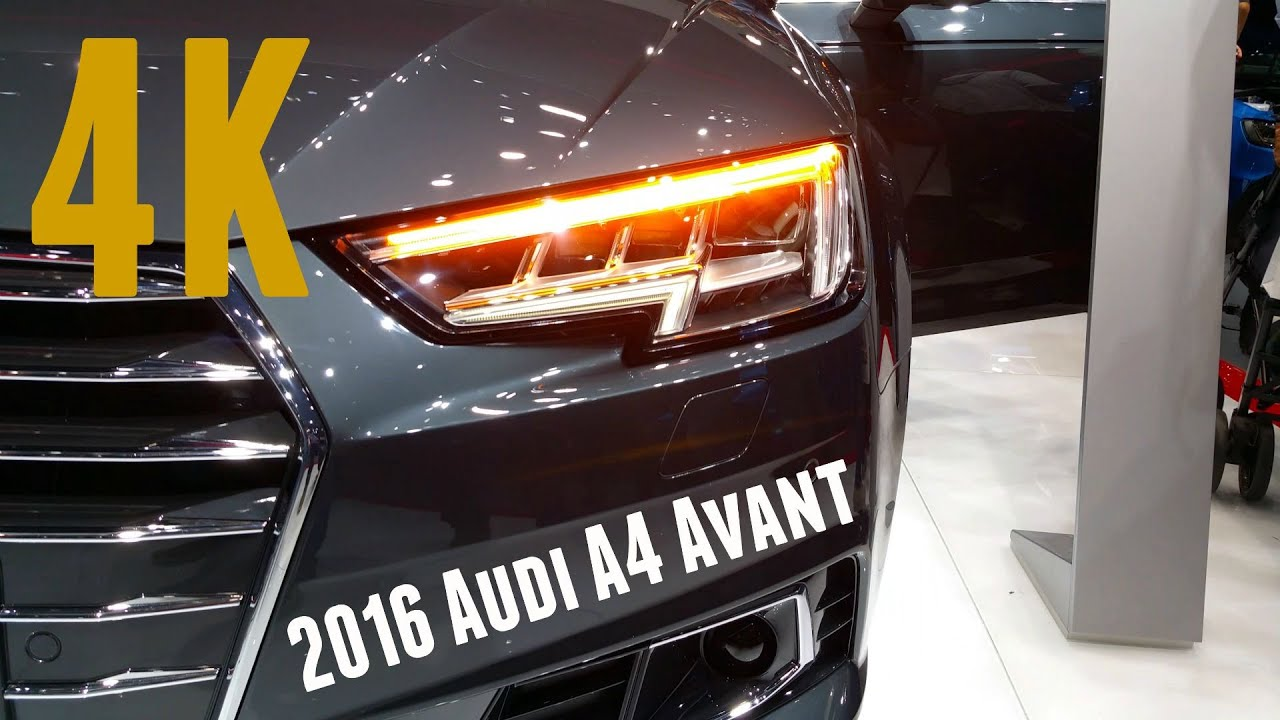 new 2016 audi a4 matrix led licht dynamischer blinker. Black Bedroom Furniture Sets. Home Design Ideas