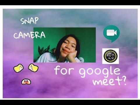 Snap Camera for Google meet (Snapchat) - YouTube