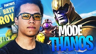 NOUVEAU MODE DE JEU : THANOS INFINITY WAR X FORTNITE ! KINSTAAR GAMEPLAY GANT DE L'INFINI