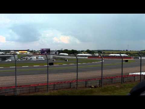 Formula 1 British Grand Prix 2011 Opening Lap - Stowe Corner