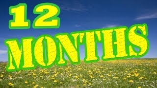Months of the Year Song - 12 Months of the Year Song - Children
