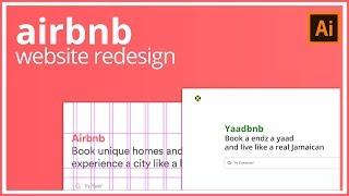 Gambar cover Airbnb Redesign UI Process / Speed Art