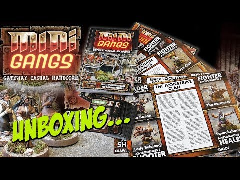 Mini Gangs | Unboxing And Flipthrough