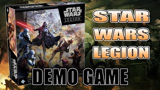 How To Play Star Wars Legion: Demo Game