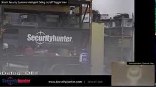 Security Hunter   Bosch intelligent Defog Demonstration
