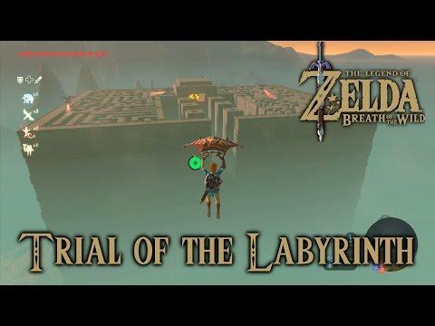 Zelda Breath Of The Wild: Lomei Labyrinth Island, Trial Of The Labyrinth (Tu Ka'loh Shrine)