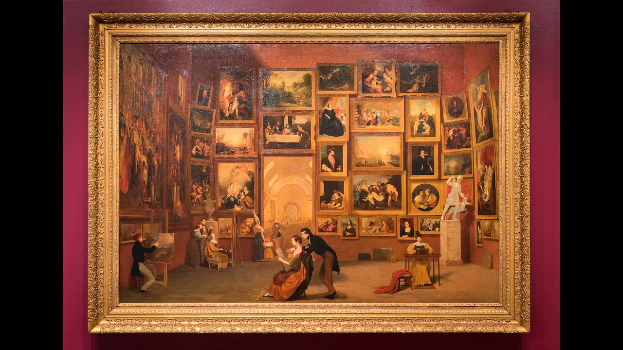 The artworks in Samuel F. B. Morse's 'Gallery of the ...