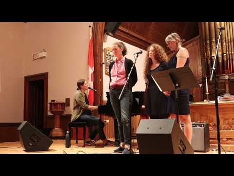 Rose Cousins ~ Grace (Live) With Tanya Davis, Catherine MacLellan & Meaghan Blanchard