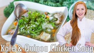 Kale And Quinoa Chicken Soup