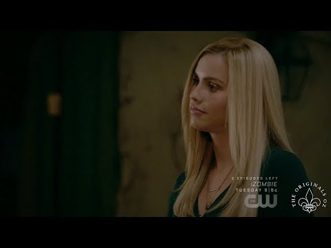 The Originals 4x12 Rebekah & Haykey talk about Elijah