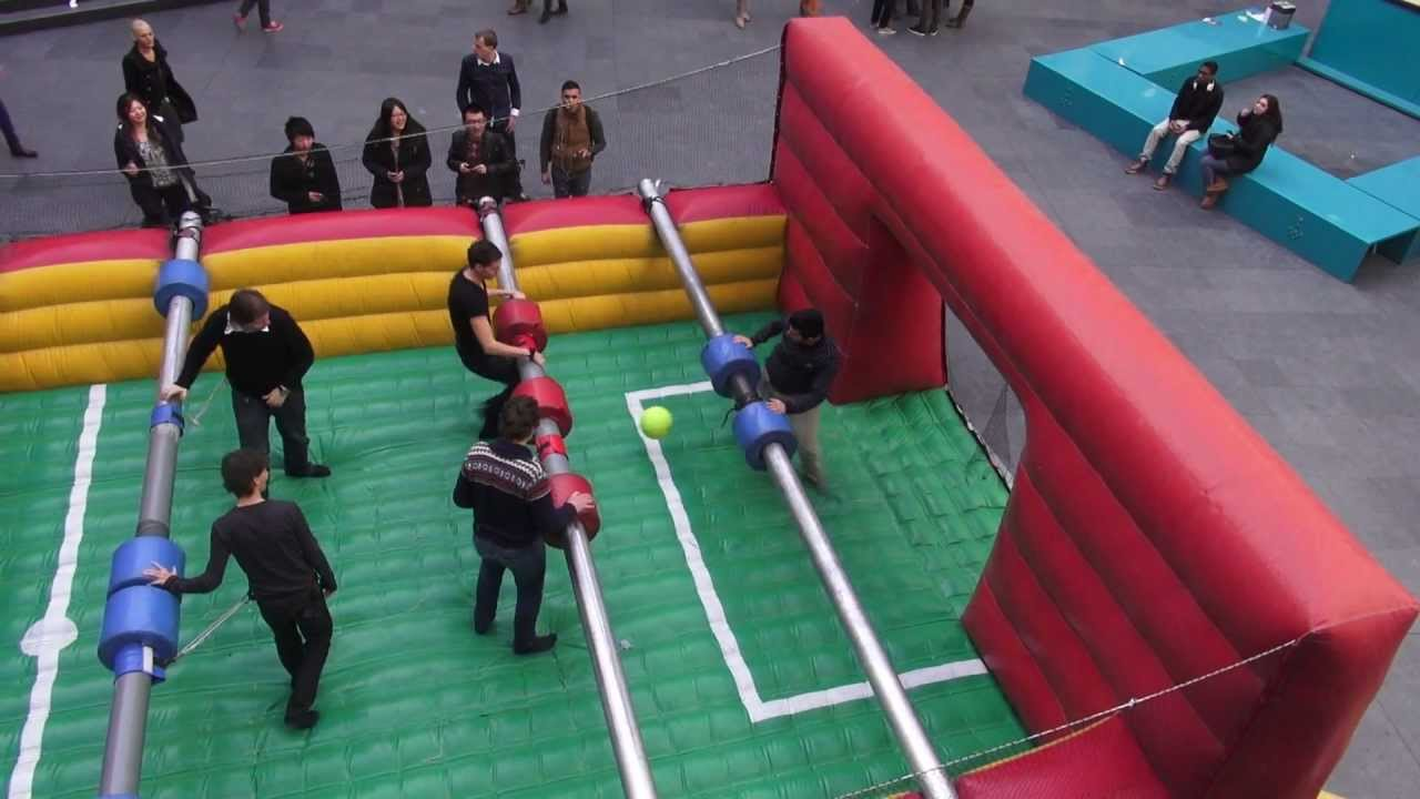 Hhs Bg2013 Real Life Table Soccer Youtube