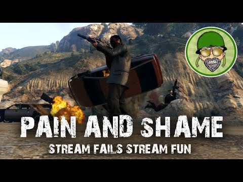PAIN AND SHAME (Twitch Stream Funny Moments)
