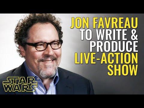 Jon Favreau to write & produce upcoming Star Wars liveaction   Star Wars