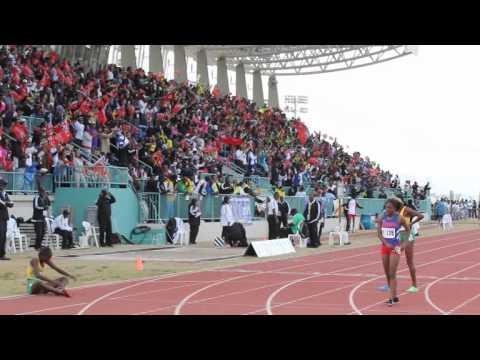 Taylor Ashley Bean Wins Silver Carifta Bermuda Apr 9 2012